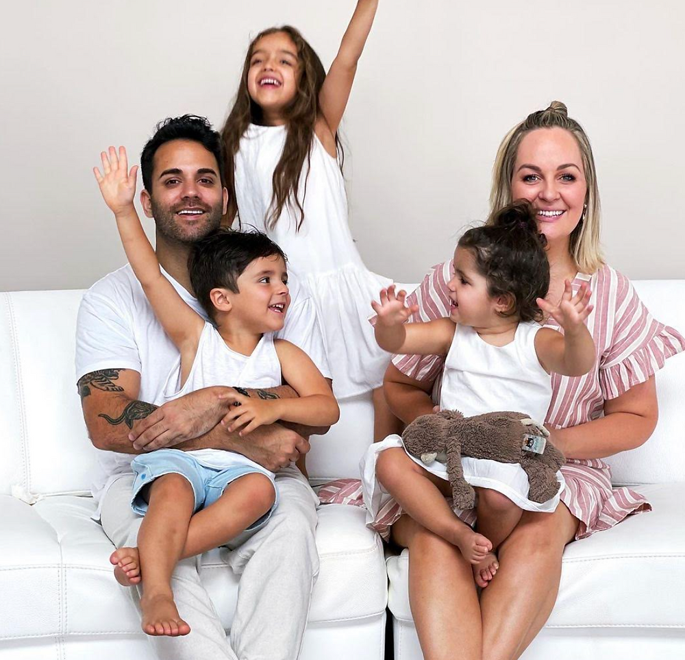 Emmy Samtani and her family