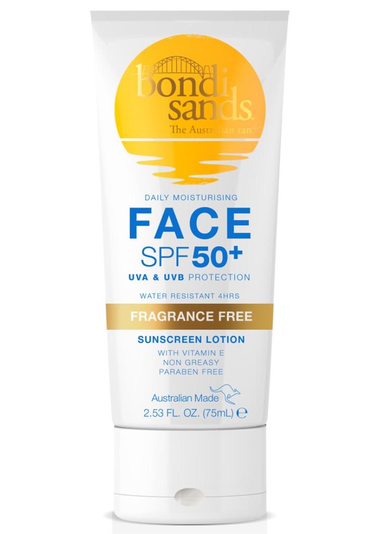 Bondi Sands Daily Moisturising Face SPF 50+ Sunscreen Lotion