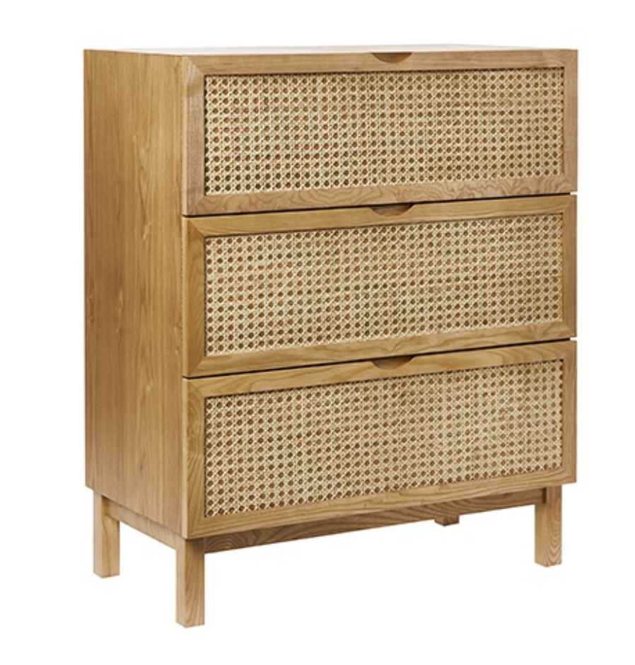 Adairs rattan drawers