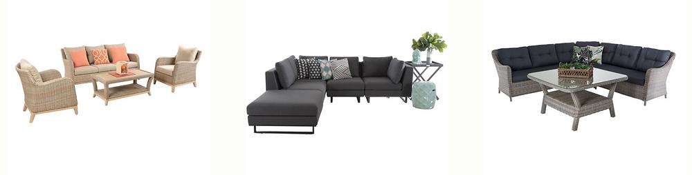 outdoor lounge set