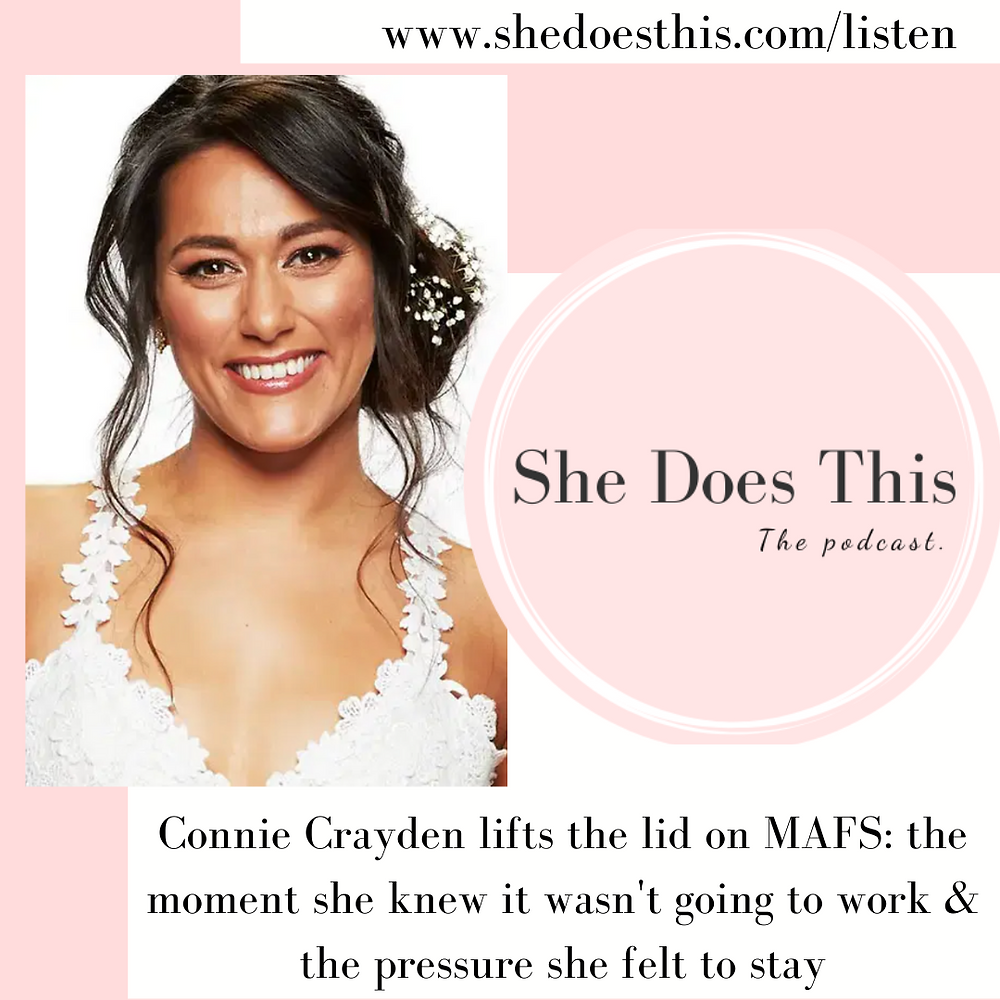 Connie Crayden MAFS podcast interview