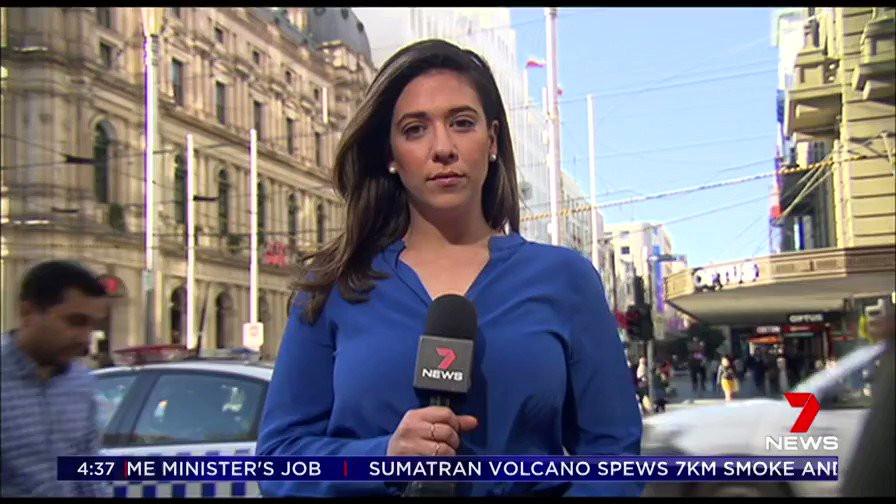 Jodi Lee Bourke Street massacre on 7 news