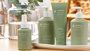 The new endota range perfect for Mum's & bubs