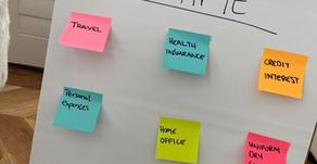 Organising your tax using Post-it teamwork tools