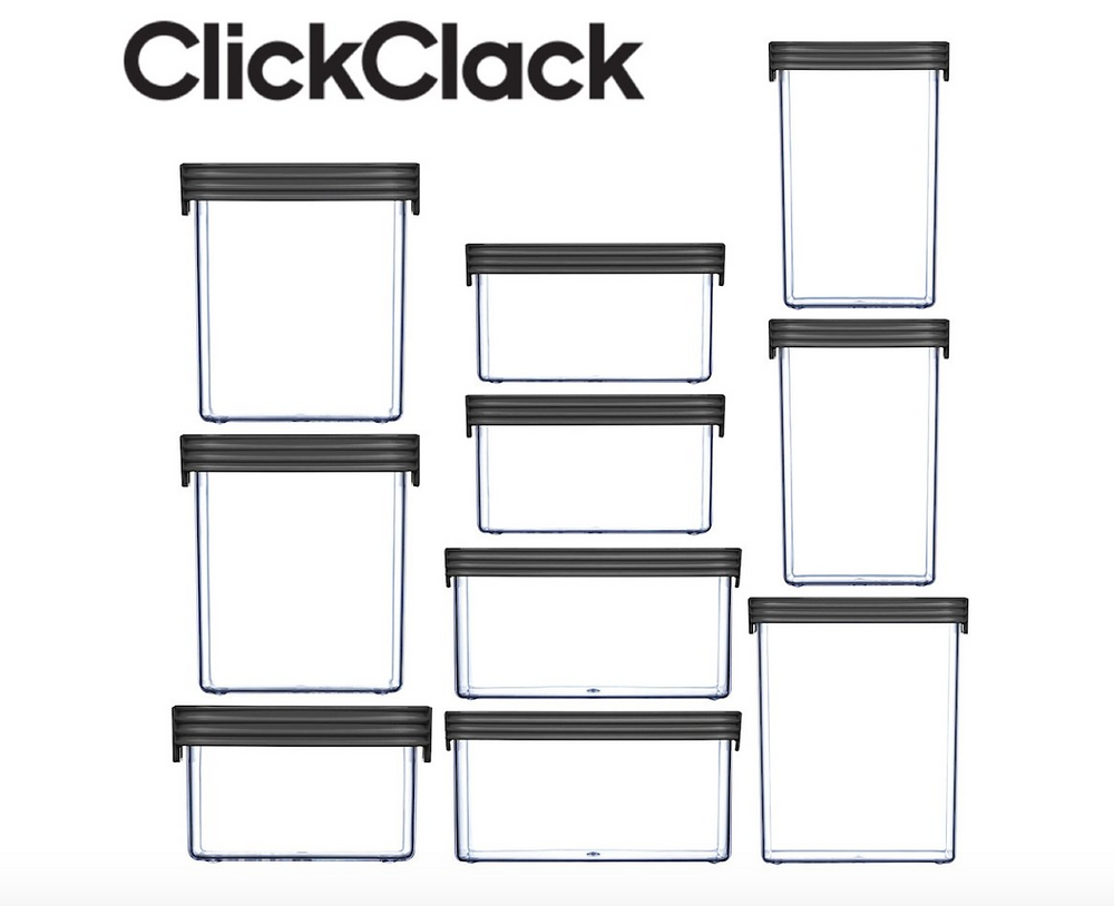 clickclack airtight containers