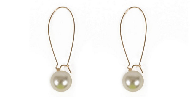 cheap pearl earrings