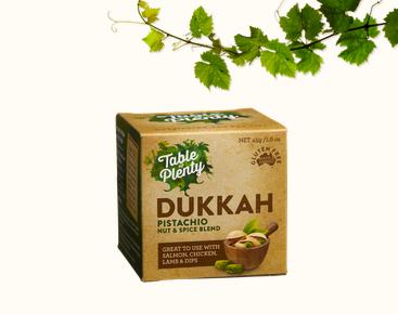 table of plenty dukkah