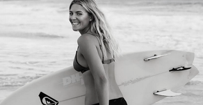 Aussie surfer, Steph Gilmore shares her tips on staying healthy