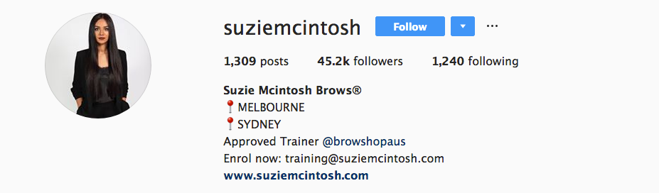 suzie mcintosh instagram