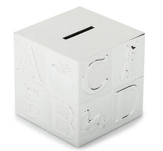 Silver Money Box, David Jones