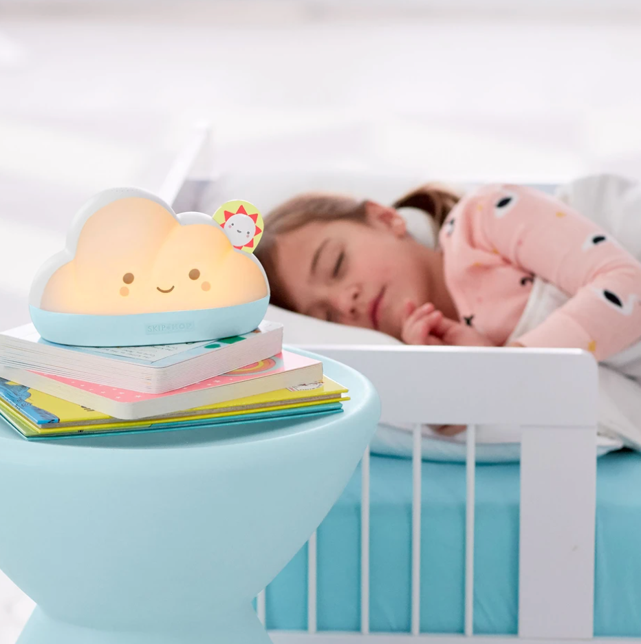 nightlight and sleep trainer for kids