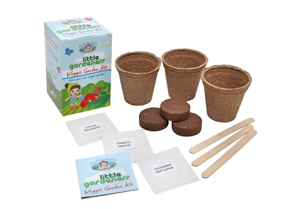 Mr Fothergill's Little Gardeners range, available at Bunnings