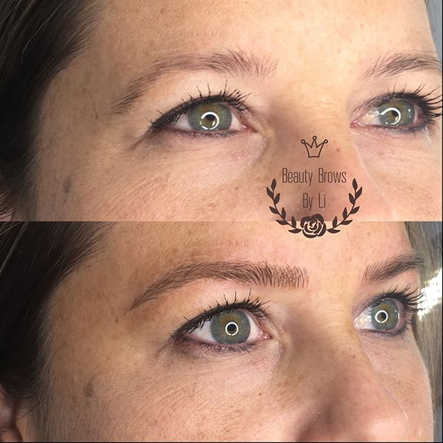 Reshaping this beauties delicate brow shape! Gave her an instant eye lift and symmetry 😍😍😍