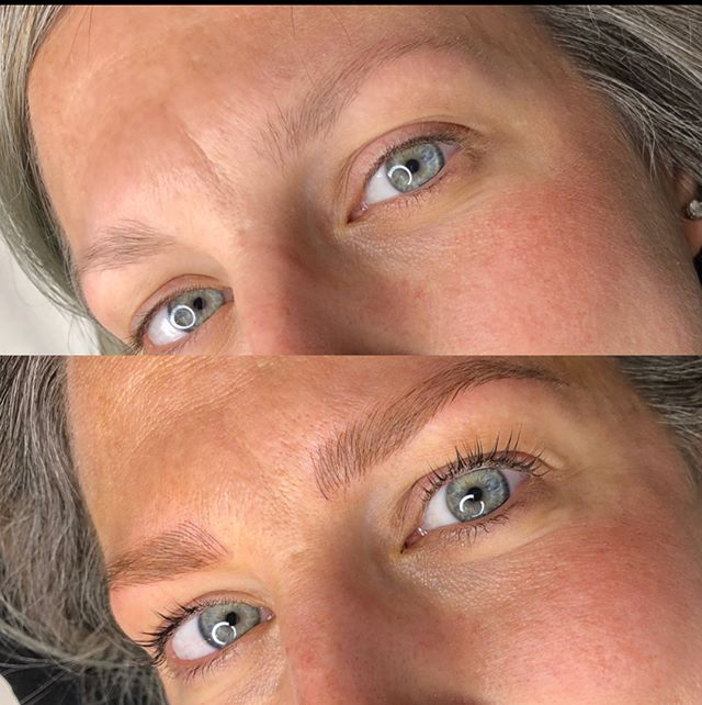 Can't forget these beauties_! SWIPE 🔛 to see HEALED soft and natural brows