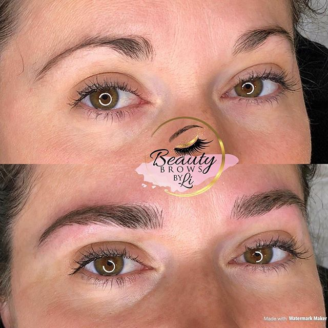 Forever say goodbye to thin round brows!