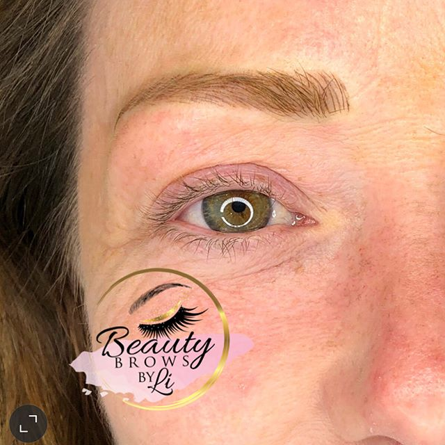 Amazing HEALED brows! Check out her before 😵