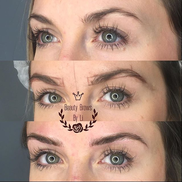 Elongating a brow gives you a sleek natural modern look! We added to her delicate brow and stayed ve