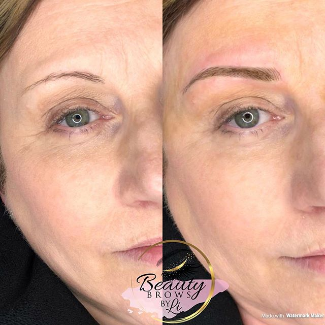 Isn't it amazing how much younger great brows make you look__!! It's all about proper proportions an