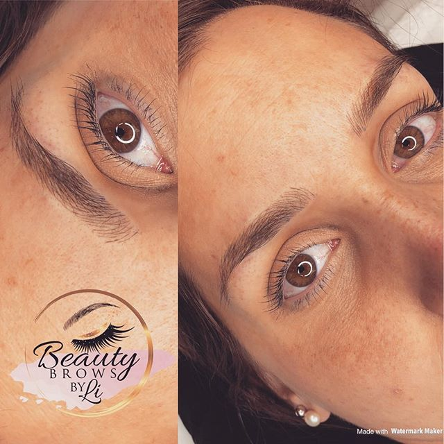 Natural Microblading that once healed, is carefree and semi permanent! Book your July appointment wi