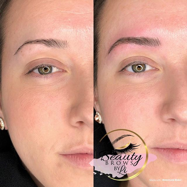 An updated brow transformation for this