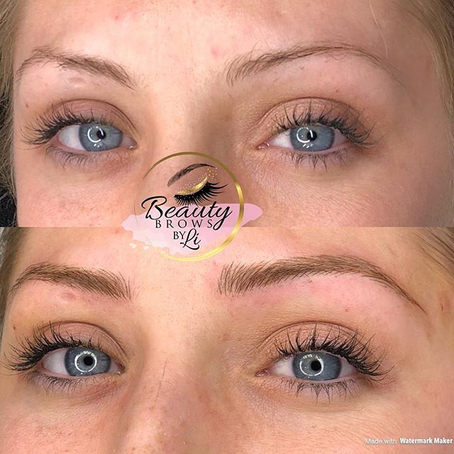 """My client was so nervous about having Microblading done because (and I quote) """"all the negative thin"""