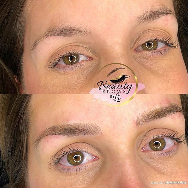 Gave this new mamma something to smile about!! Natural results for the perfect brow