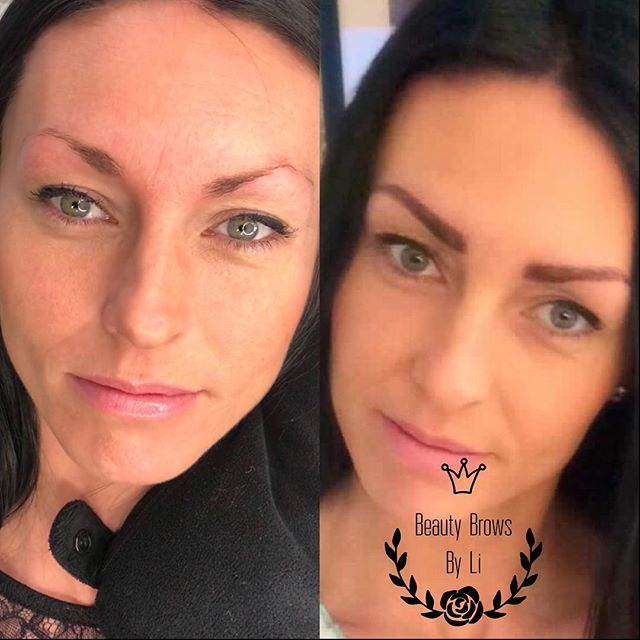What a difference Brows make!!!! 😍😍😍