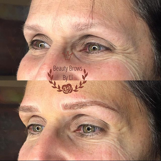 Easily took ten years off my client! It's incredible how a good pair of brows will enhance your feat