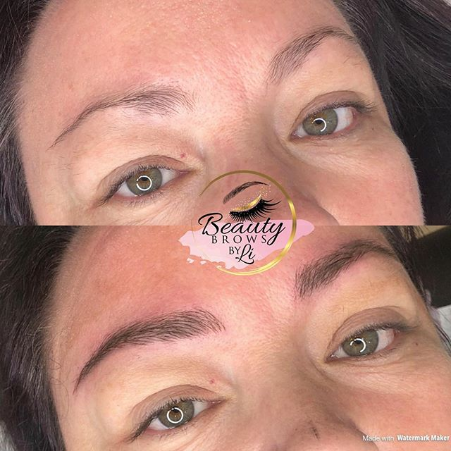 Lovely set of natural brows for my clien