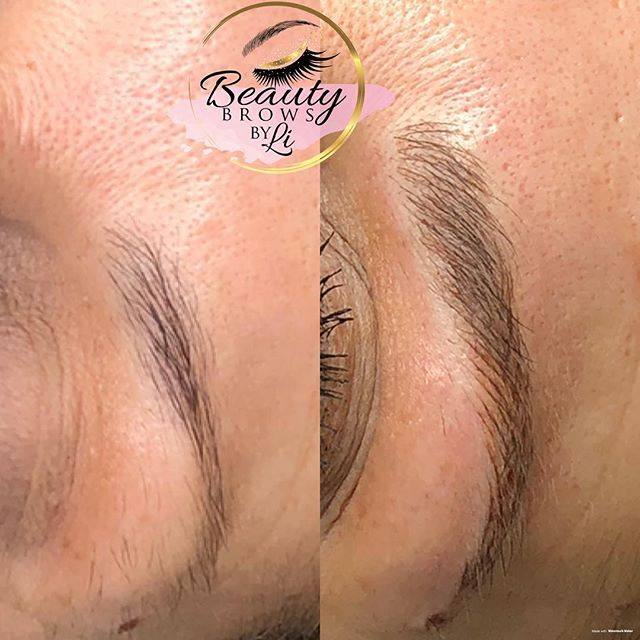 Microblading and shading work! This comb