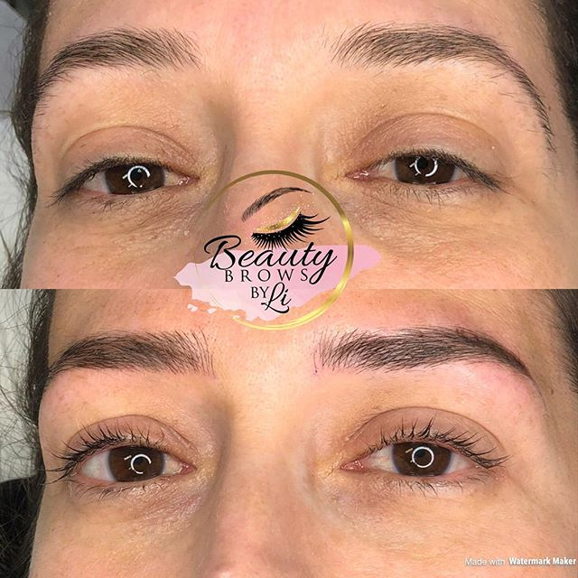 All in the family! Finally got a chance to do my sisters brows today