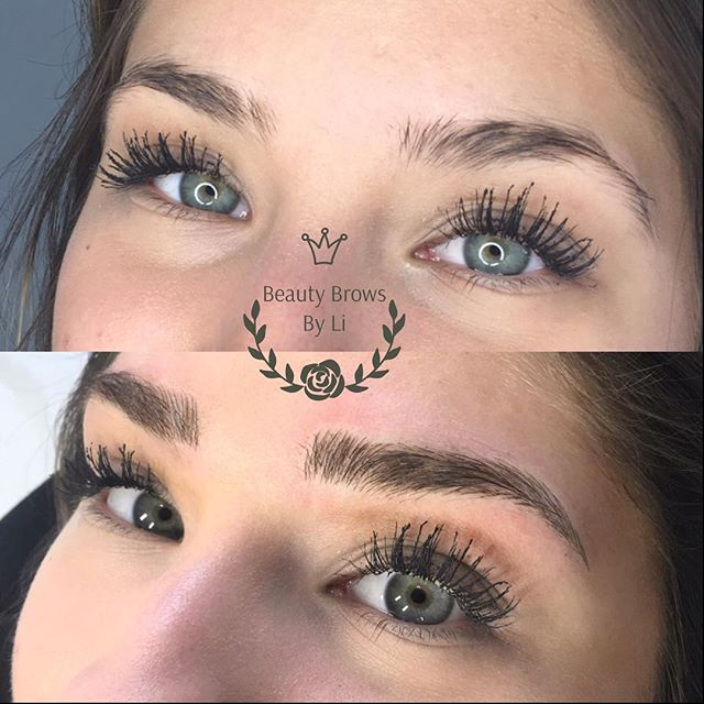 Slayyyy 🙌🏻🙌🏻🙌🏻 Powerful fluffy brows for my gorgeous client