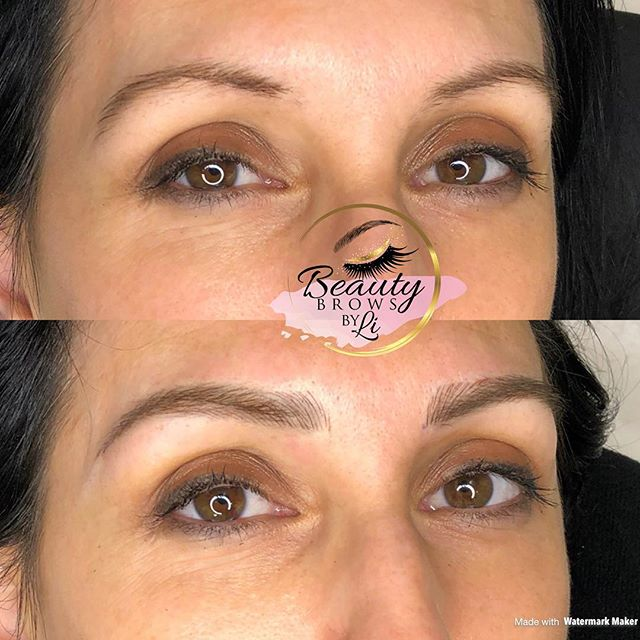 A great pair of brows will instantly update your look! New shape, new found confidence for this beau