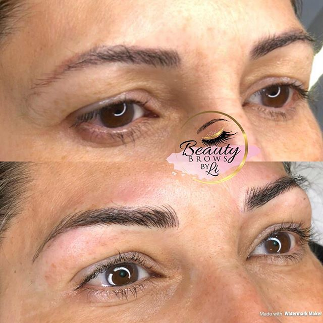 """""""Fixing"""" my clients previous Microblading work (done by another artist)"""