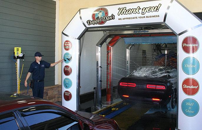 Santa Clarita Ca >> Dapper Dan's Car Wash