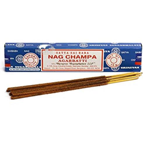 Blue Nag Champa Incense 15g Box