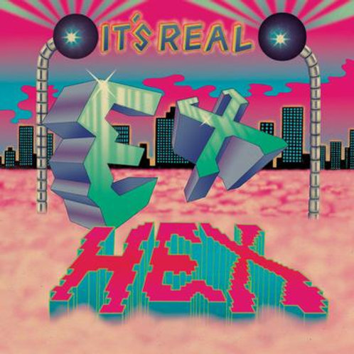 Ex Hex - It's Real Limited Edition Magenta & Blue Vinyl