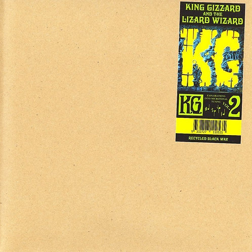 King Gizzard And The Lizard Wizard - K.G. Vinyl on Recycled Black Wax