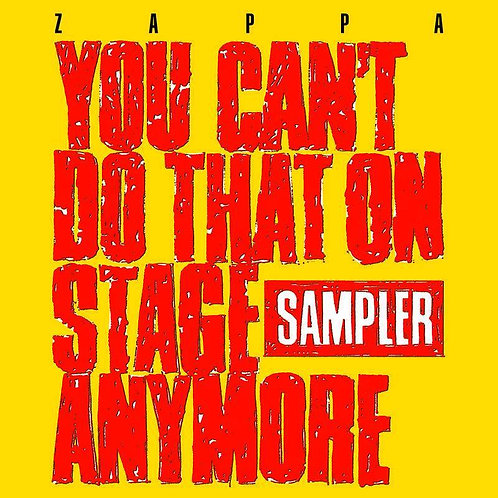 Zappa - You Can't Do That On Stage Anymore Yellow and Red Transparent Vinyl
