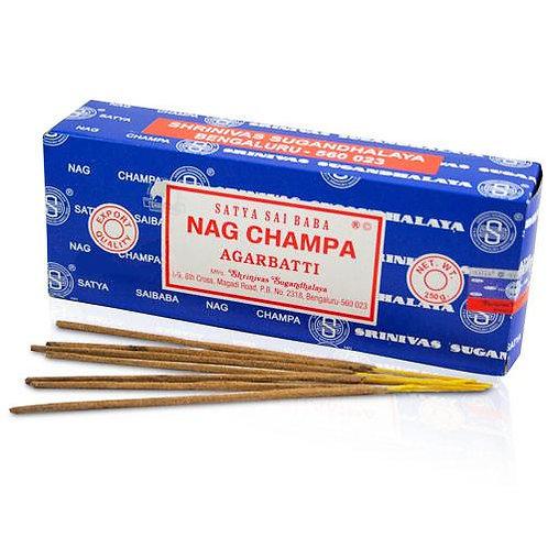 Blue Nag Champa 40g Box
