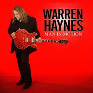 WARREN HAYNES - MAN IN MOTON CD