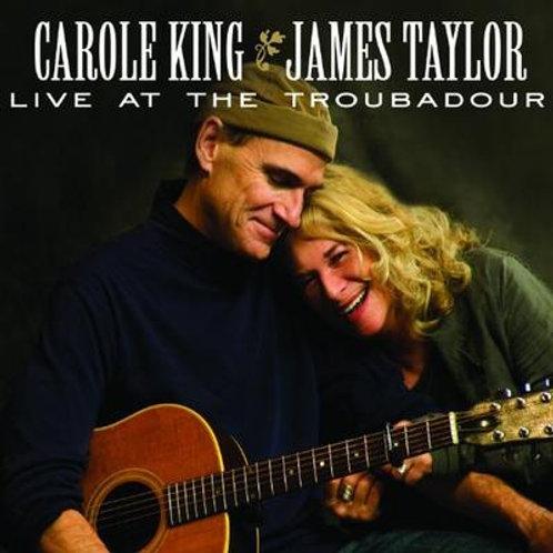 CAROLE KING & JAMES TAYLOR - LIVE AT THE TROUBADOUR CD/DVD