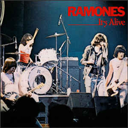 Ramones - It's Alive LP (40th Anniversary Edition On Red And Blue Vinyl)