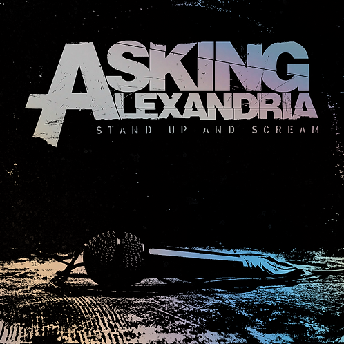 Asking Alexandria- Stand Up And Scream Splatter 10 Year Anniversary Vinyl