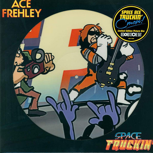 Ace Frehley - Space Truckin' 45rpm Picture Disc