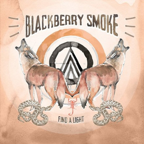 Blackberry Smoke - Find A Light LP (Limited Edition Opaque Silver Vinyl)