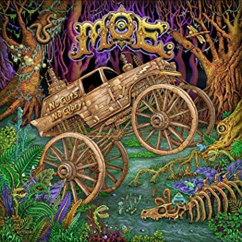 MOE - NO GUTS, NO GLORY CD