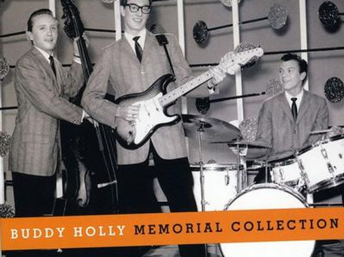 BUDDY HOLLY - MEMORIAL COLLECTION CD
