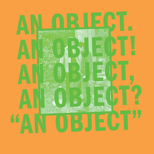 NO AGE - AN OBJECT CD