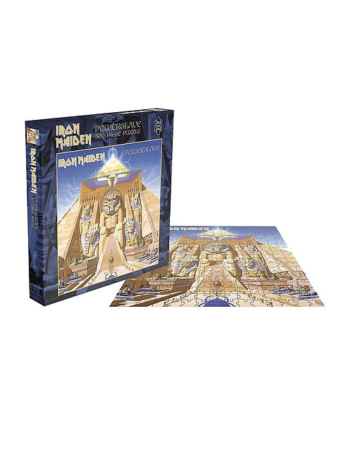 Iron Maiden Jigsaw Puzzle Powerslave Album Cover new Official 500 Piece
